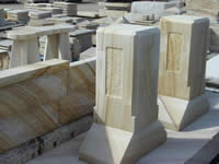 Sandstone Pedestals - click for larger image